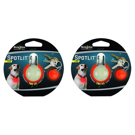 SPOTLIT Night Safety Light Color:Red Size:Pack of 2, Weather resistant By Nite -