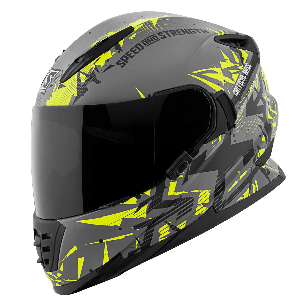 Speed And Strength SS1600 Critical Mass Full Face Helmet ...