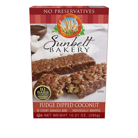 Chewy Fudge (Fudge Dipped Coconut Chewy Granola Bars, 10 Bars, A treat unlike any other granola bar, our Fudge Dipped Coconut Chewy Granola bar is sure to make any coconut lover.., By Sunbelt Bakery )