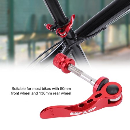 Ymiko Aluminium Alloy Mountain Bike Quick Release Road Bicycle Cycling Skewer,Bike Axle Skewer,Mountain (Best Road Bike Skewers)