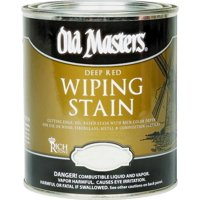 Old Masters 15001 Wiping Stain, Rich Mahogany, 1 gal Can