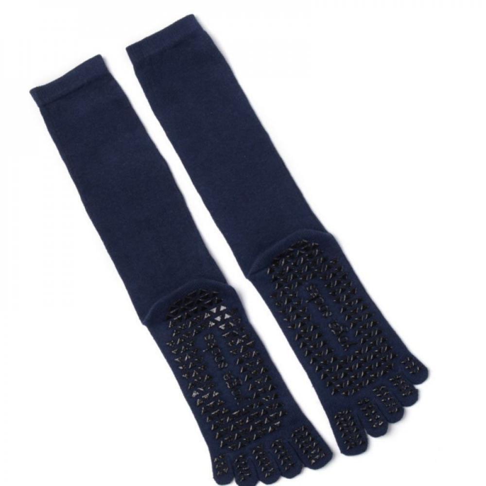 Sports Socks Non-Silp Knee High Men Women Design Breathable Knee High Anti Skid