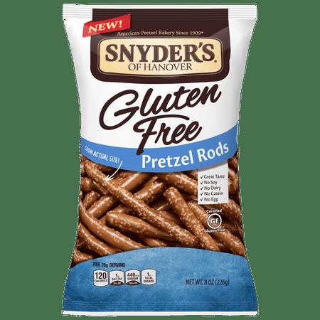 Snyder's of Hanover Gluten Free Pretzel Rods, 8 Oz