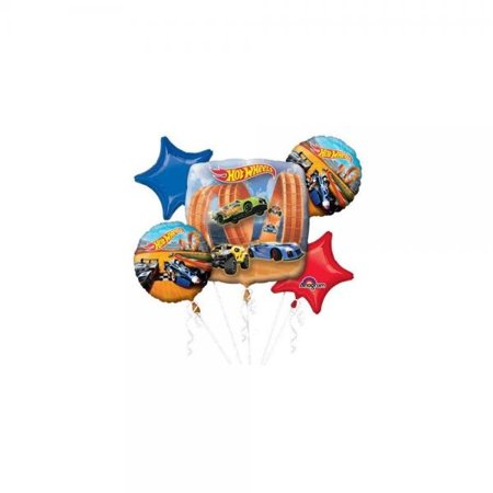Hot Wheels Racer Bouquet Of Balloons - Price Of Balloons