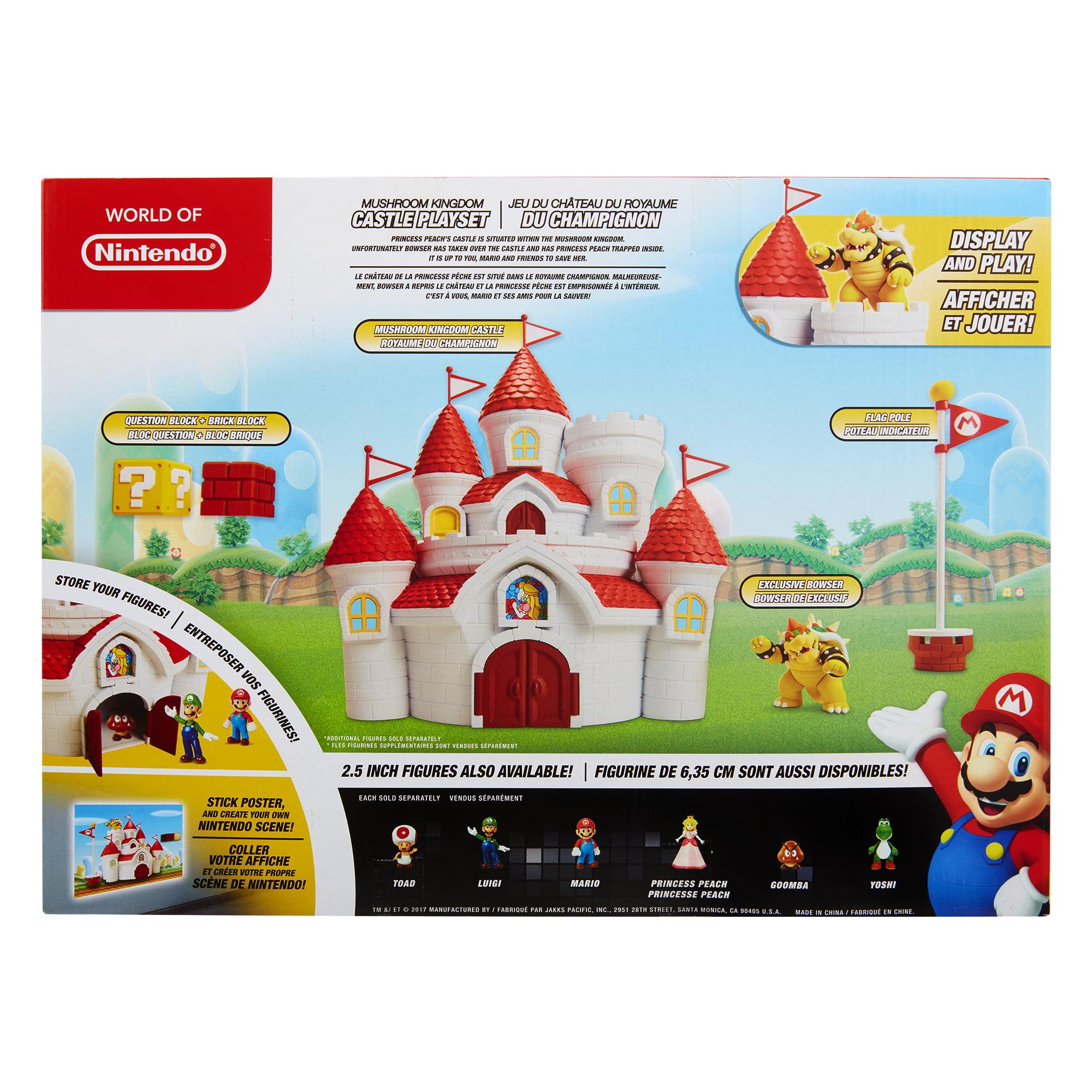 mario mushroom kingdom background
