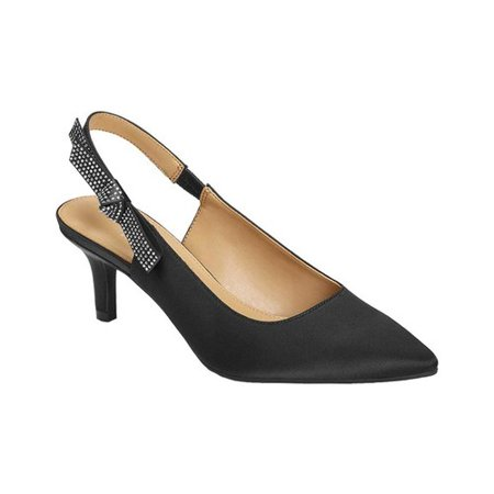 Metallic Slingback Pumps (Women's Aerosoles Main Frame Pointed Toe Slingback Pump)