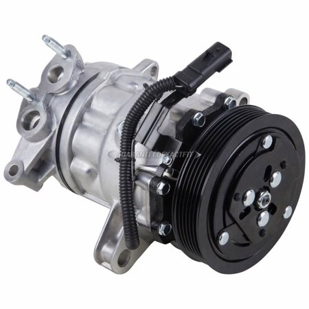 AC Compressor & A/C Clutch For Jeep Liberty V6 2002 2003 2004 (Jeep Liberty Sport)