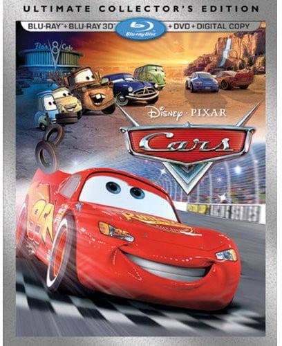 Cars: Ultimate Collector's Edition (Blu-ray + Blu-ray + DVD + Digital Copy) by DISNEY/BUENA VISTA HOME VIDEO