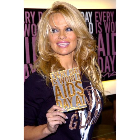 Pamela Anderson At In-Store Appearance For Mac Viva Glam Lipstick AidsHiv Education & Prevention Campaign Mac Cosmetics Store In West Hollywood Los Angeles Ca Wednesday November 30 2005 Photo By David