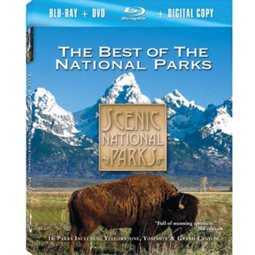 Scenic National Parks: The Best Of The National Parks (Blu-ray   DVD   Digital HD)
