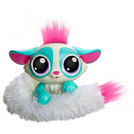 Lil' Gleemerz Amiglow Furry Friend, Light Up Interactive Talking Toy - Furry Friends Leash Collection