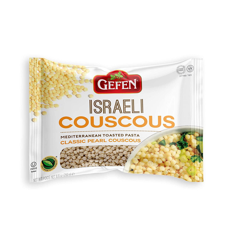 Gefen Israeli Classic Pearl Couscous 8 8oz 3 Pack Mediterranean Toasted Pasta Walmart Com Walmart Com