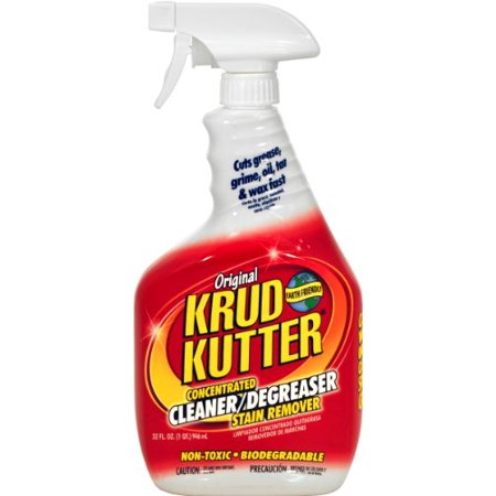 KRUD KUTTER KK32/6 Original Concentrated Cleaner/Degreaser, 32-Ounce,