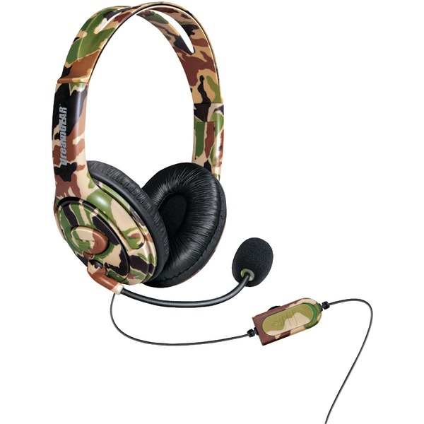 DREAMGEAR XBOX1 WIRED HDST CAMO