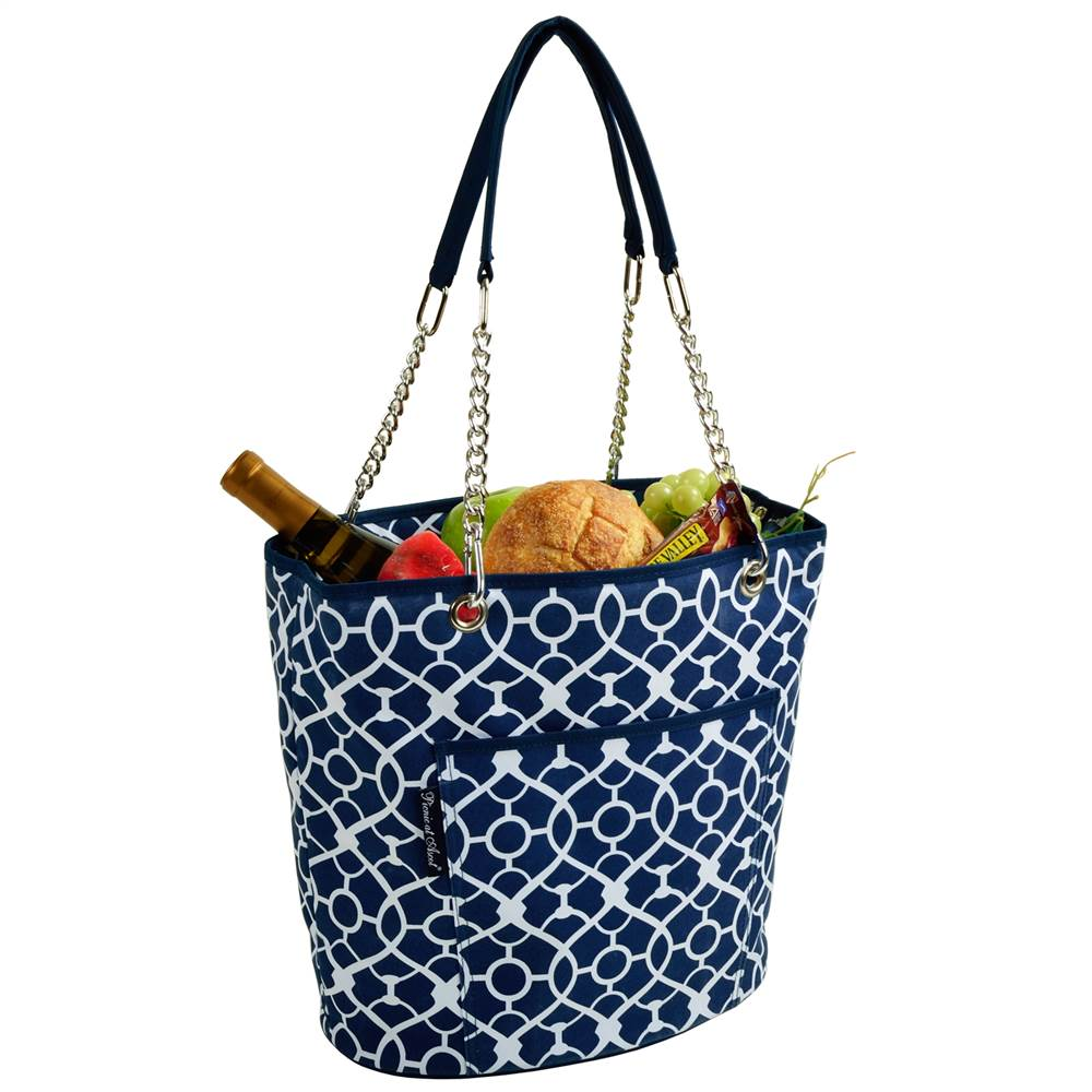 Blue Fashion Cooler Tote