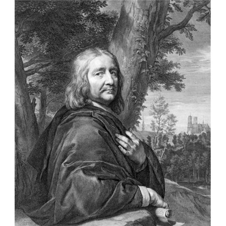Posterazzi DPI1856517LARGE Philippe De Champaigne 1602 To 1674 Belgian Baroque Era Painter of The French School From 17th Century Engraved by Gerar Poster Print, Large - 26 x 30 - image 1 of 1