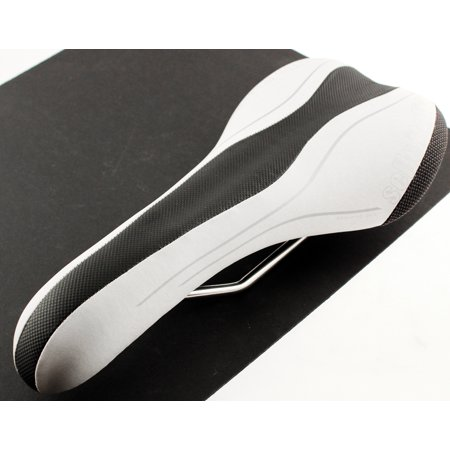 SELLE ITALIA SLR T1 VANOX Rails Gel Road Bike Saddle White Mtb Carbon Fiber NEW