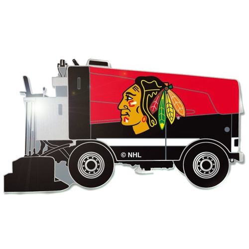 Chicago Blackhawks Zamboni Collector's Pin - No Size