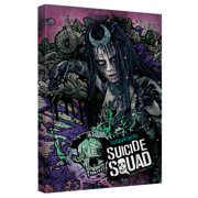 Suicide Squad Enchantress Psychedelic Cartoon Canvas Wall Art With Back Board