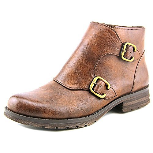 Naturalizer BraeBurn Women's Leather Monk Ankle Boots by Naturalizer