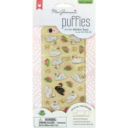 Mrs. Grossman's Puffies Stickers-Royal Swan - image 1 de 1