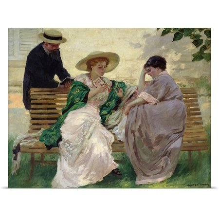 Great Big Canvas Rupert Charles  1864 1947  Bunny Poster Print Entitled The Chat