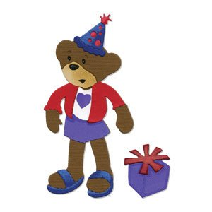 Brand New  Party Bear Girl Body W Party Hat   Gift  High Quality