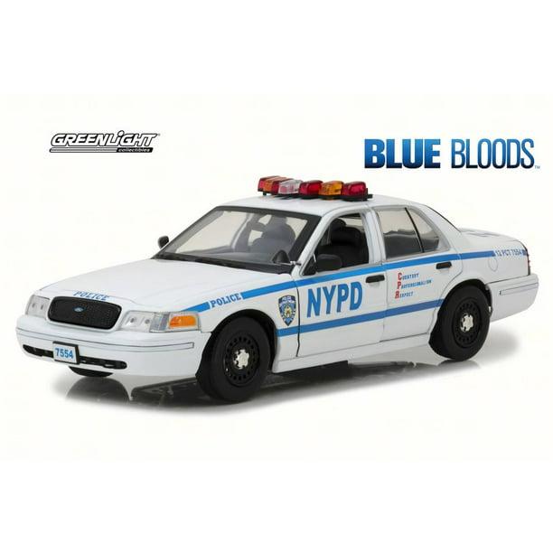 2001 Ford Crown Victoria Police Interceptor Jamie Reagan Blue Bloods Greenlight 13513 1 18 Scale Diecast Model Toy Car Walmart Com Walmart Com