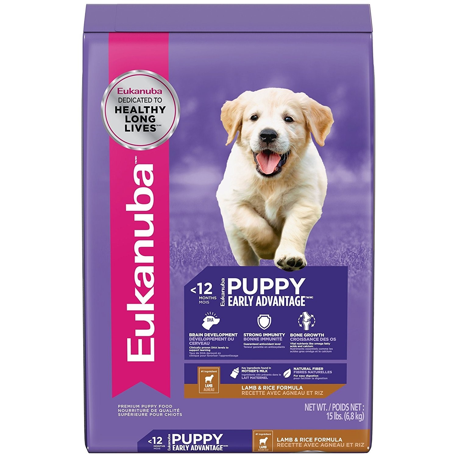 Eukanuba Lamb & Rice Puppy Dry Dog Food, 33 Lb
