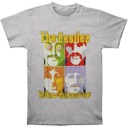 Beatles Mens  Sea Of Science Vintage T Shirt Vintage Heather