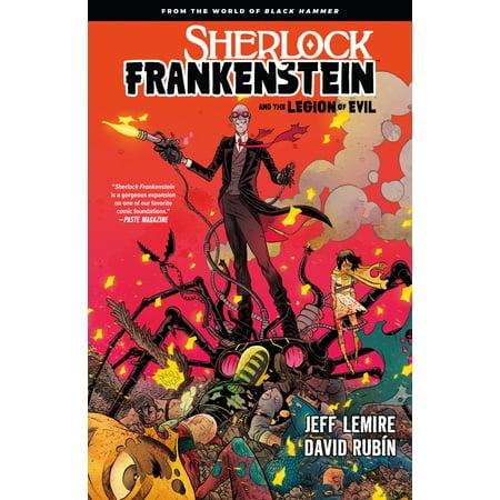 Sherlock Frankenstein Volume 1: From the World of Black Hammer (Black Frankenstein)