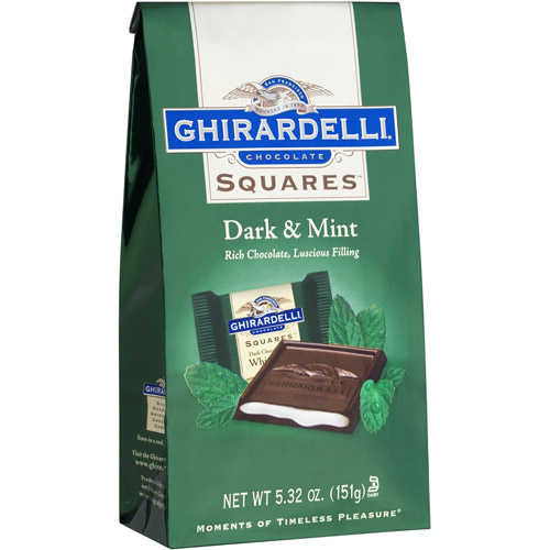 Ghirardelli Chocolate Squares Dark & Mint Dark Chocolate, 5.32 oz