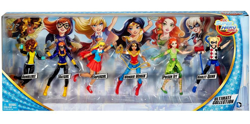 DC Comics DC Super Hero Girls Ultimate Collection Action Figure 6-Pack by DC COMICS