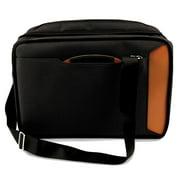 Saddle Leather & Ballistic Nylon Convertable Briefcase