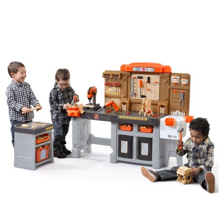 Step2 Pro Play Workshop & Utility Bench with 76 Piece Tool Set](Tool Workshop)