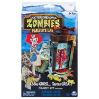 Doctor Dreadful Zombies ? Parasite Lab with Gummy Candy Mix and Molds
