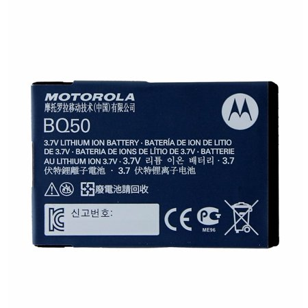 OEM Motorola BQ50 910 mAh Replacement Battery for Select Motorola