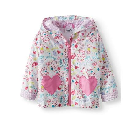 Peppa Pig Little Girls' Raincoat