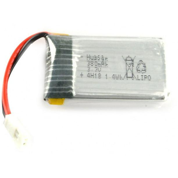 Hubsan X4 H107C 375mAh37 Battery 3.7v 375mAh 25c Li-Po RC Part 2 Pack
