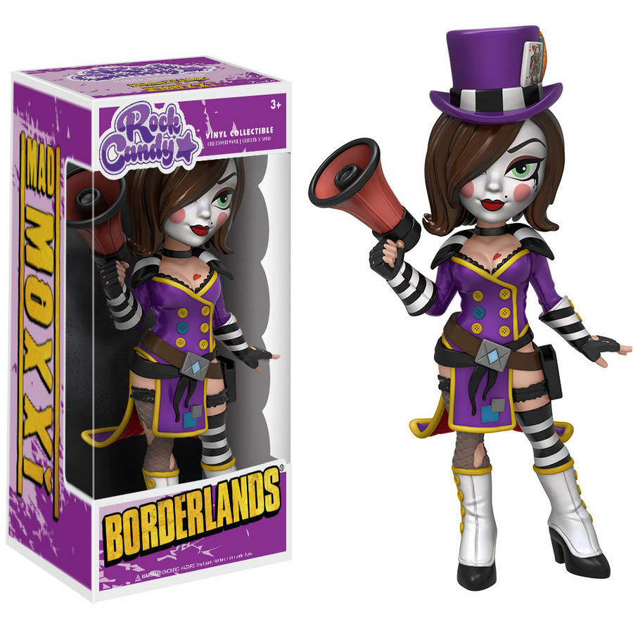 Funko Rock Candy: Borderlands, Mad Moxxi