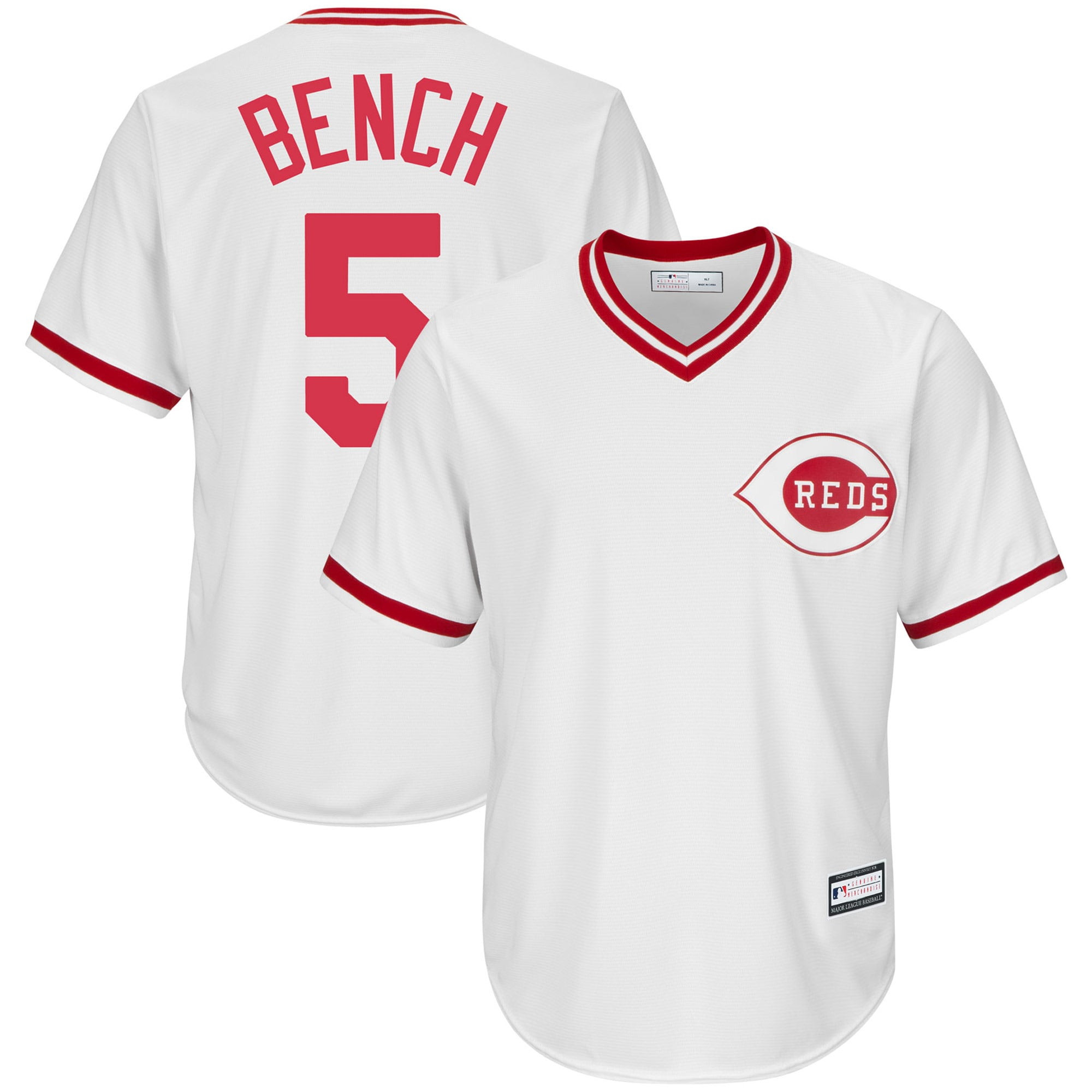 Johnny Bench Cincinnati Reds Home