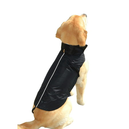 Water Resistant Dog Jacket, Fleece Lined, Warm, Dog Accessory, For Small, Medium & Large Pet Dogs