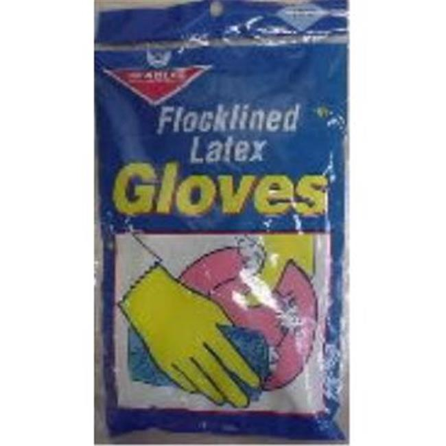 Bulk Buys Latex Gloves-Size Small - Case of 12