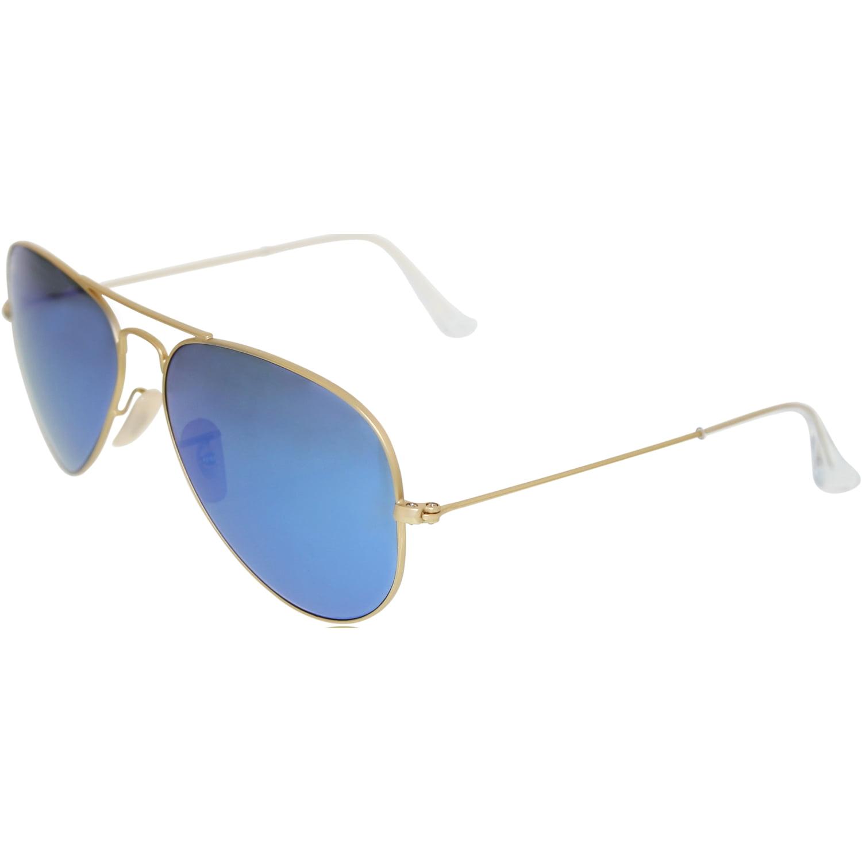 ray ban glasses walmart  ray ban men's mirrored aviator rb3025 112/17 58 gold aviator sunglasses walmart