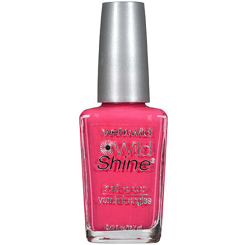 Wet n Wild Wild Shine Nail Polish, 429D Dreamy Poppy, 0.43 fl oz