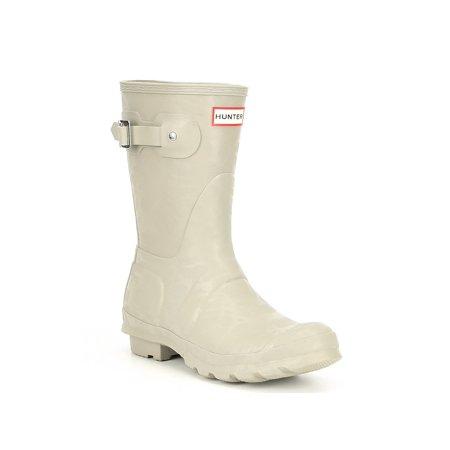 Hunter Original Short Rain Boot - 10M - Gloss Bright (Womens Oakley Boots)