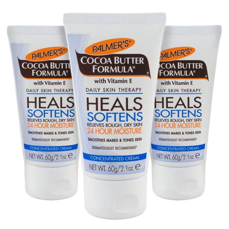 (3 Pack) Palmer's Cocoa Butter Formula with Vitamin E Concentrated Cream, 2.1