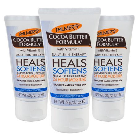 (3 Pack) Palmer's Cocoa Butter Formula with Vitamin E Concentrated Cream, 2.1 oz