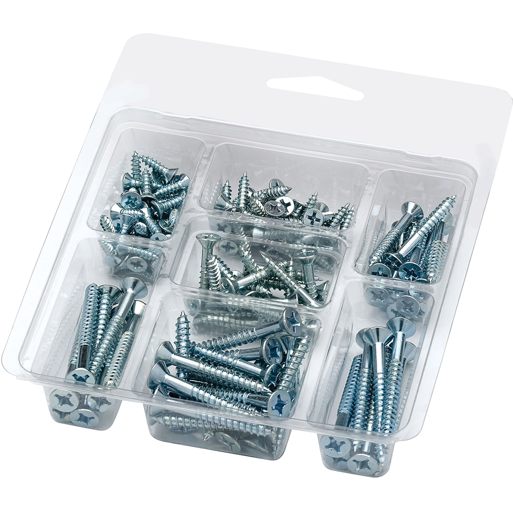 Arrow Pan-Head Steel Wood Screw Assortment