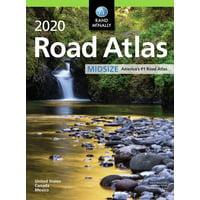 Rand mcnally 2020 road atlas midsize united states, canada, mexico: 9780528021053